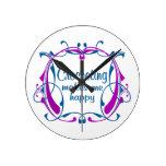 El Crocheting feliz Relojes