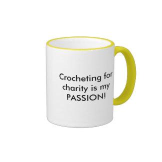 El Crocheting para la caridad es mi PASIÓN Morphin Tazas