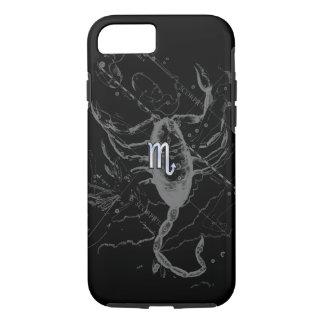 El cromo tiene gusto de la muestra del zodiaco del funda iPhone 7