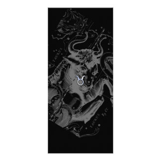 El cromo tiene gusto de la muestra del zodiaco del tarjetas publicitarias personalizadas