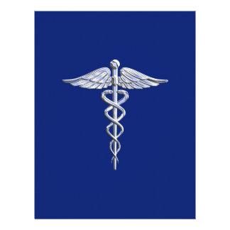 """El cromo tiene gusto de los azules marinos médicos folleto 8.5"""" x 11"""""""