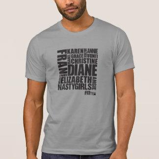 """El CrossFit """"chicas """" Camiseta"""