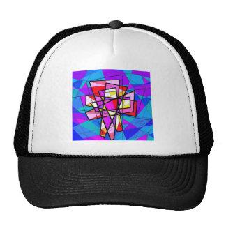 El crucifijo del vitral gorras