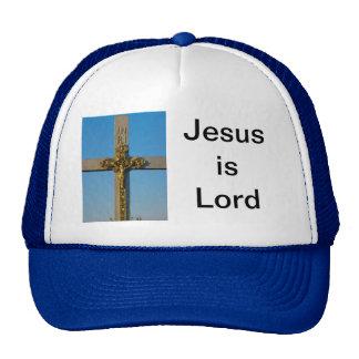 El crucifijo rumano Jesús es señor Gorros Bordados