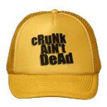 """el """"cRuNk no es"""" - gorra muerto"""
