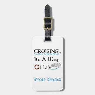 El cruzar… Es una manera de etiqueta del equipaje Etiquetas Para Equipaje
