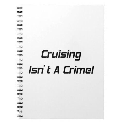 El cruzar no es un crimen libros de apuntes con espiral