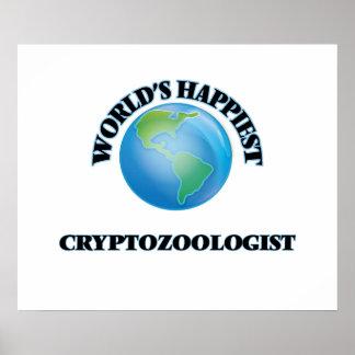 El Cryptozoologist más feliz del mundo Póster