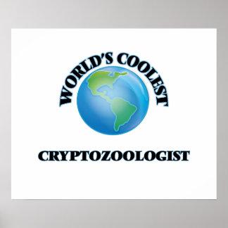 El Cryptozoologist más fresco del mundo Póster