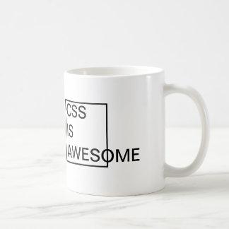 El CSS barato es TAZA IMPRESIONANTE