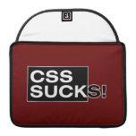 El CSS chupa Fundas Para Macbooks