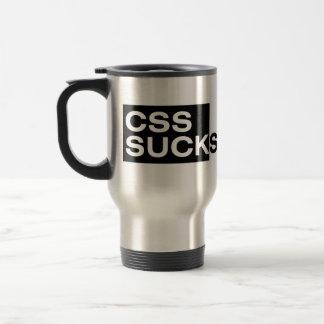 El CSS chupa Taza De Viaje