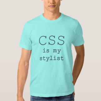 El CSS es mi luz del estilista Remera