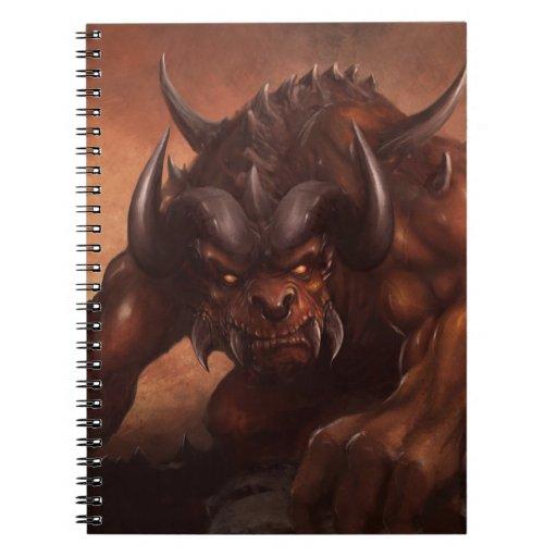 El cuaderno de la bestia mítica