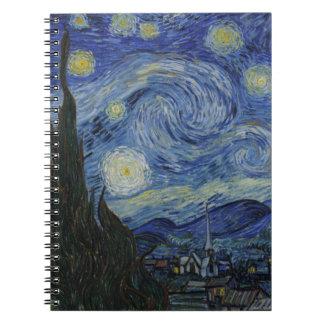 El cuaderno de la noche estrellada