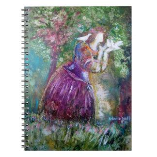 """""""El cuaderno de la princesa y de los pájaros"""""""