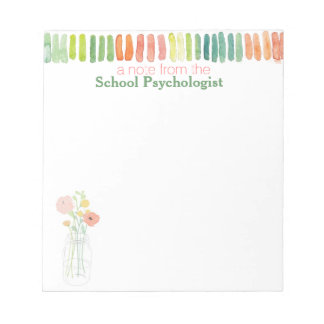 El cuaderno de notas del psicólogo de la escuela d blocs