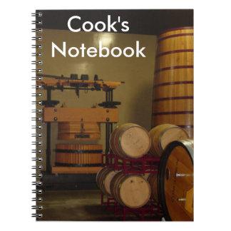 El cuaderno del cocinero