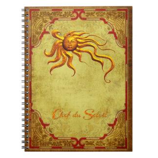 El cuaderno del cocinero - Chef du Soleil