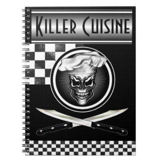 El cuaderno del cocinero: Cocina del asesino