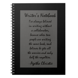 El cuaderno del escritor - Agatha Christie