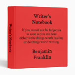 El cuaderno del escritor - Benjamin Franklin