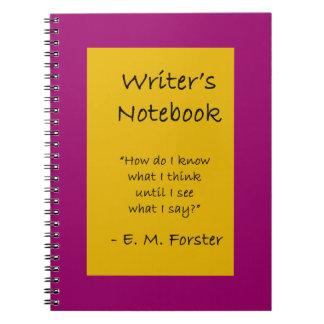 El cuaderno del escritor - E.M. Forster
