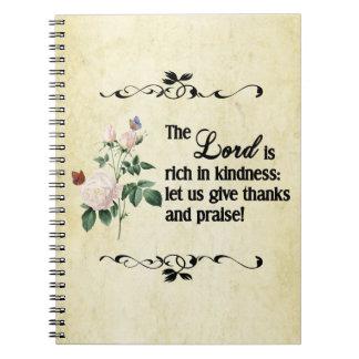El cuaderno del personalizado de señor Is Rich In