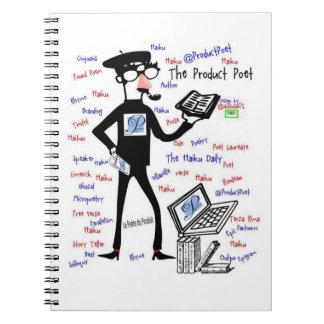 El cuaderno del poeta del producto