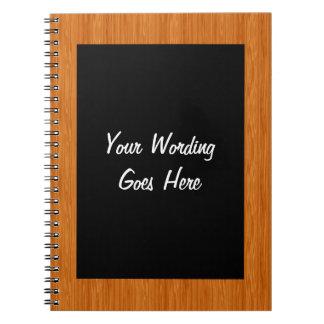 El cuaderno del tablero de tiza PERSONALIZA