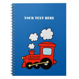 El cuaderno el | del tren del choo de Choo embroma