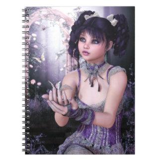 El cuaderno encantador de las mariposas