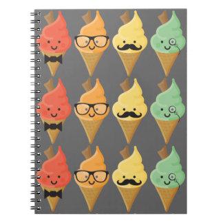 El cuaderno fresco de las grietas