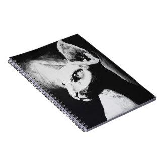 El cuaderno original felino del arte del gato de S