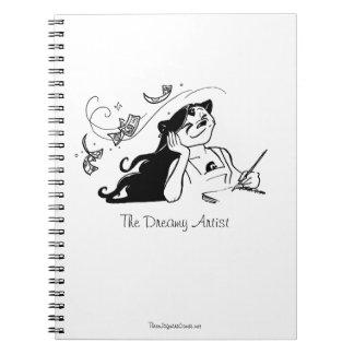 El cuaderno soñador del artista