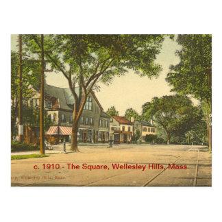 El cuadrado, colinas de Wellesley, masa Postal