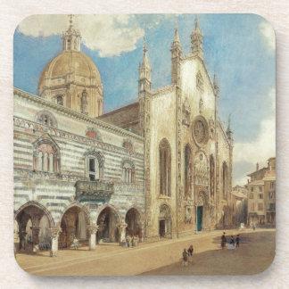El cuadrado de la catedral en Como de Rudolf von Posavasos