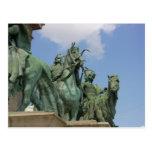 El cuadrado de los héroes, Budapest Tarjetas Postales