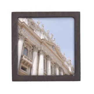 El cuadrado de San Pedro, Ciudad del Vaticano, Rom Cajas De Recuerdo De Calidad