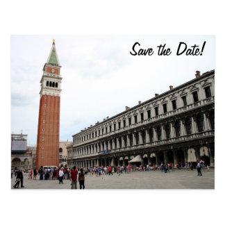 El cuadrado de St Mark en Venecia Postal