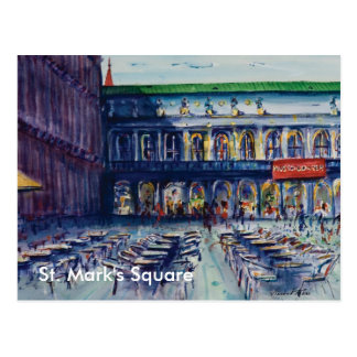El cuadrado de St Mark Tarjetas Postales