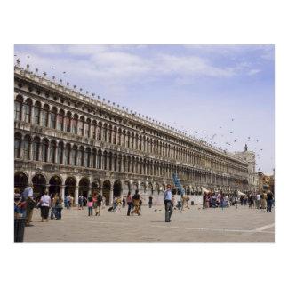 El cuadrado de St Mark, Venecia, Italia Postal