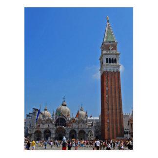 El cuadrado de St Mark, Venecia Postal