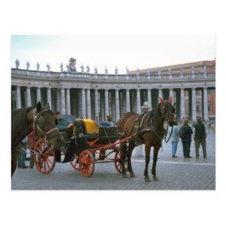 El cuadrado, el caballo y el carro de San Pedro Postales