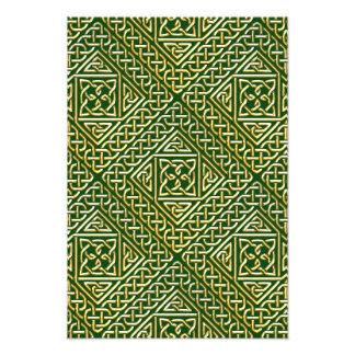 El cuadrado verde del oro forma el modelo de fotografía