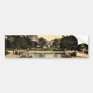 El cuadrado y el lugar D'Arcy, cla de Dijon, Franc Etiqueta De Parachoque