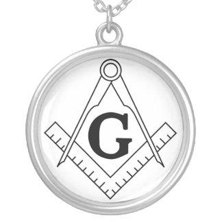 El cuadrado y el símbolo del Freemasonry de los co Grimpolas Personalizadas