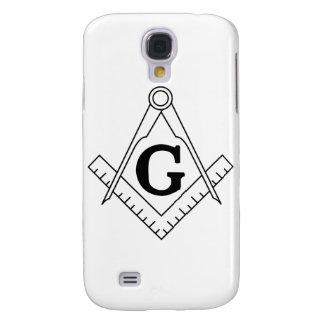 El cuadrado y el símbolo del Freemasonry de los co Funda Para Galaxy S4