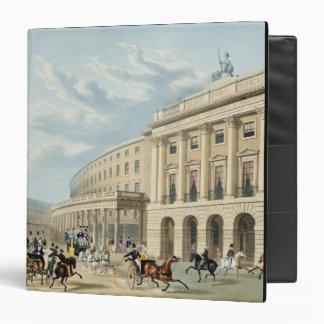 """El cuadrante, calle regente, de Piccadilly Circu Carpeta 1 1/2"""""""