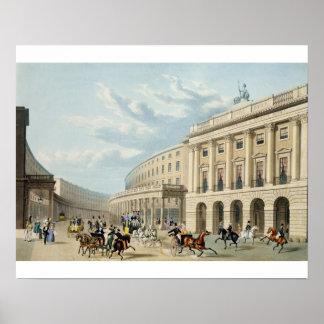 El cuadrante, calle regente, de Piccadilly Circu Póster
